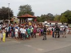 Manifestantes protestam por segurança na BR-135 no MA