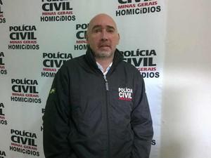 Delegado de Homicídios de Juiz de Fora Rodrigo Rolli (Foto: Roberta Oliveira)