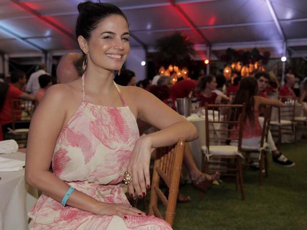 Emanuelle Araújo em evento em Trancoso, na Bahia (Foto: Marcos Ribas/ Brazil News)