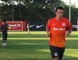 Leandro Damião, atacante do Inter (Foto: Tomás Hammes / GLOBOESPORTE.COM)