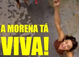 Morena vive! (Foto: Salve Jorge / TV Globo)