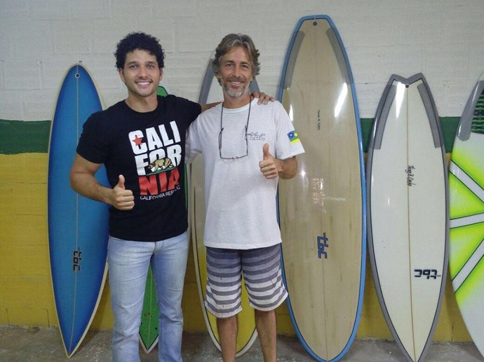 'Se Joga' no universo do surf  (Foto: TV Sergipe)