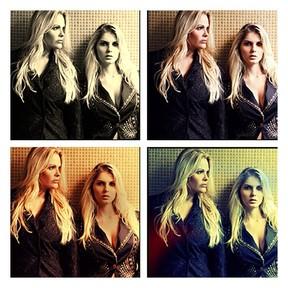 Monique e Bárbara Evans  (Foto: Instagram / Reprodução)