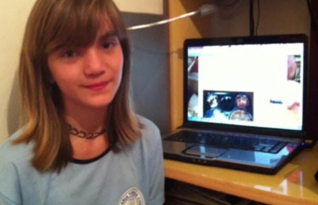 Isadora viu a notícia sobre o blog de Martha e teve a ideia para a página no Facebook (Foto: Arquivo Pessoal)