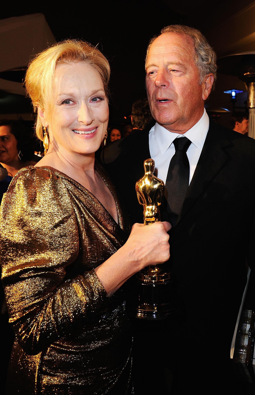 O casamento de três décadas da premiada atriz com o escultor Don Gummer é invejável. O casal tem quatro filhos. (Foto: Getty Images)