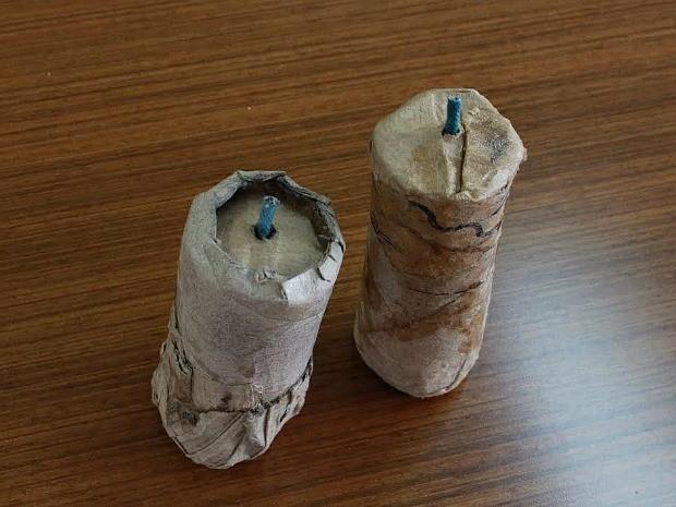 Resultado de imagem para bomba caseira