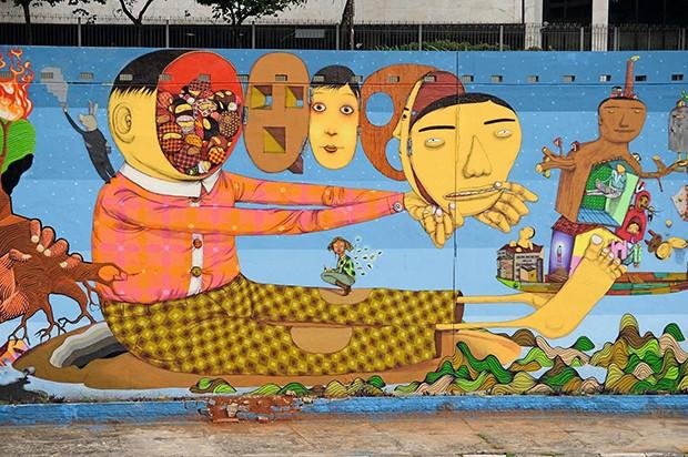 Mural SP II (Foto: LOST ART)