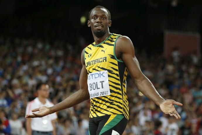 Usain Bolt 200m mundial pequim (Foto: Reuters)