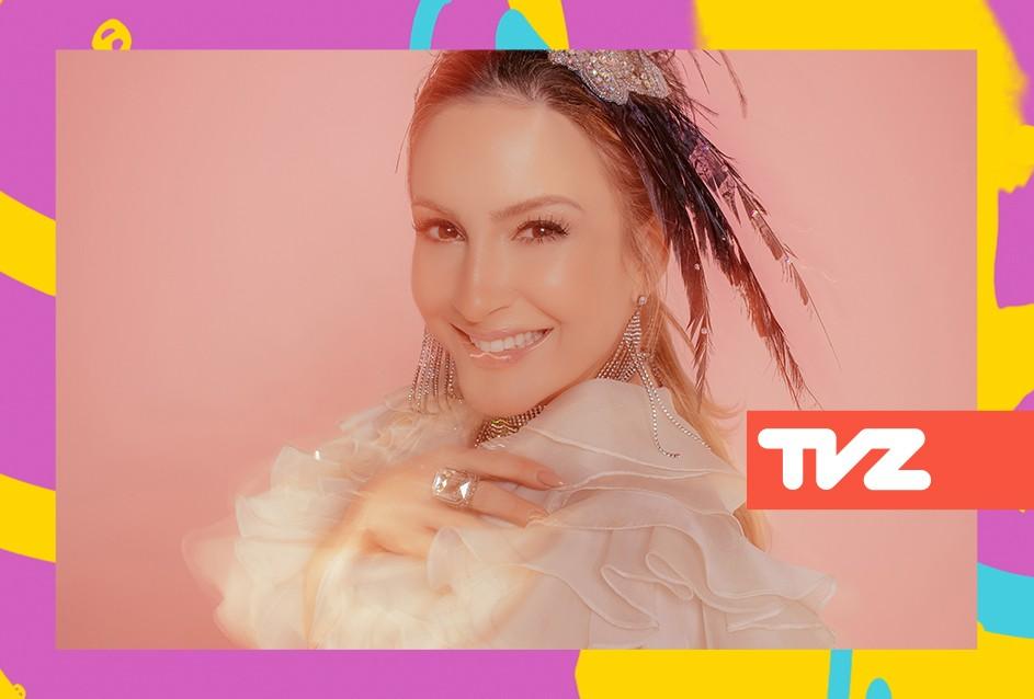 Claudia Leitte apresenta o TVZ Ao Vivo nesta quarta-feira (13) (Foto: Divulgao)
