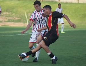 Globo FC x América-RN - Jozicley (Foto: Kaline Rodrigues/Divulgação)