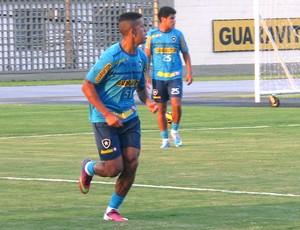 Antonio Carlos treino Botafogo (Foto: Thales Soares)