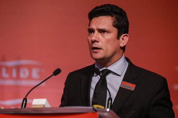 Em palestra em SP, Moro disse que não vai comentar fatiamento da Lava Jato (Foto: Vanessa Carvalho/Brazil Photo Press/Estadão Conteúdo)