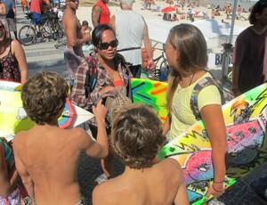 surfe Melanie Bartels no Rio Pro (Foto: Gabriele Lomba / GLOBOESPORTE.COM)