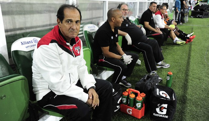 Muricy Ramalho Palmeiras x São Paulo (Foto: Marcos Ribolli)