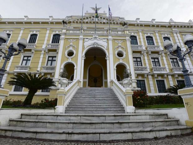 Palácio Anchieta, sede do governo do Espírito Santo (Foto: Bernardo Coutinho/A Gazeta)