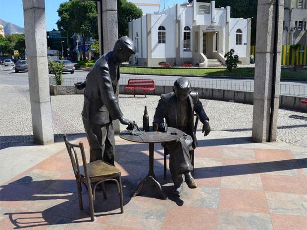 Noel Rosa está eternizado em Vila Isabel (Foto: Alexandre Macieira/ Riotur)