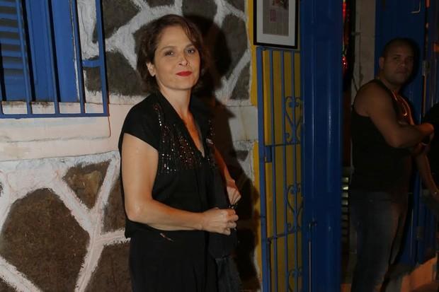 Drica Moraes no aniversário de Claudia Abreu em boate gay no Rio (Foto: Felipe Assumpção/AgNews)
