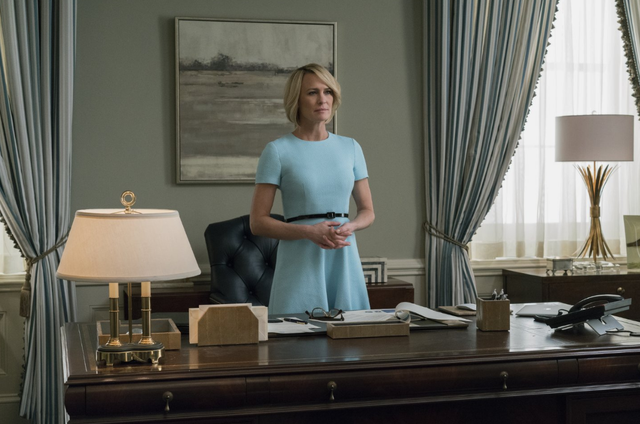 Robin Wright em 'House of cards' (Foto: David Giesbrecht / Netflix)
