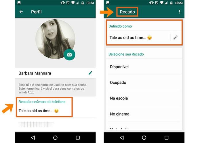 Frases Para Status Os Melhores Status Para Whatsapp Aqui: WhatsApp Recebeu Função Recado E Melhoria De Fotos