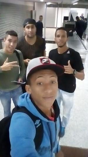Tiquinho, Rhuan, Ramon e Felipe (Foto: Reprodução/Arquivo Pessoal)