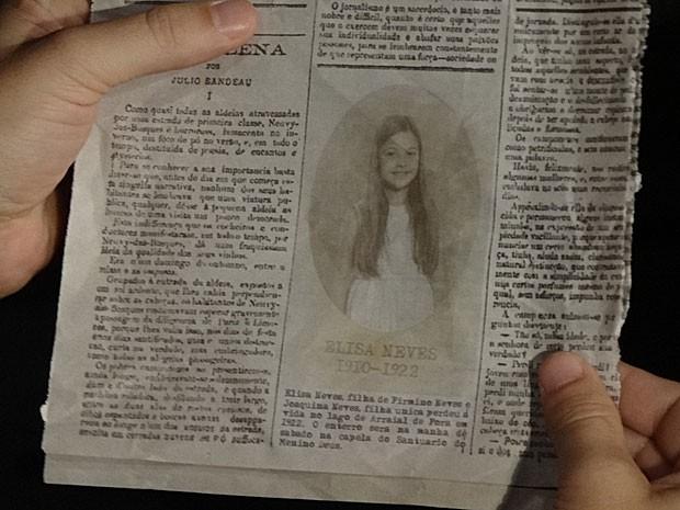 Notícia sobre morte de Elisa mostra que Amparo é uma farsa (Foto: Amor Eterno Amor/TV Globo)
