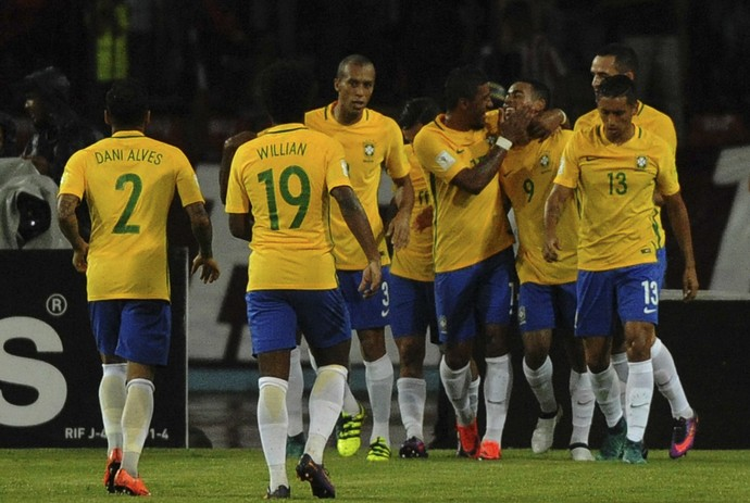 Brasil x Venezuela (Foto: AFP)