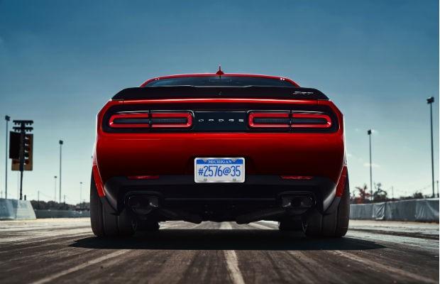 Dodge revela a traseiro do novo Challenger SRT Demon (Foto: Divulgação)
