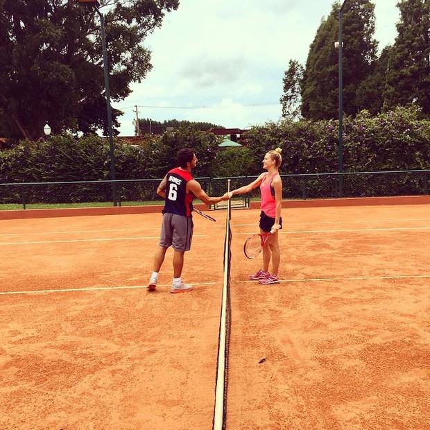 Alexandre Pato e Fiorella Matheis (Foto: Reprodução/Instagram)