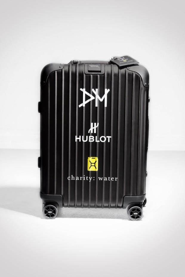 O relógio vem em uma mala customizada (Foto: Divulgação)