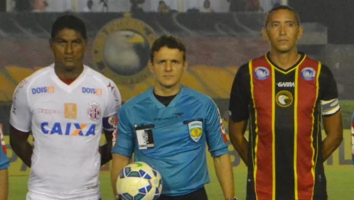 Caio Max Vieira - árbitro potiguar (Foto: Jocaff Souza/GloboEsporte.com)