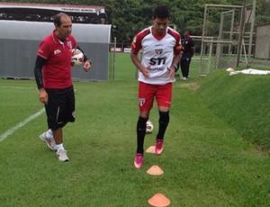 wallyson treino são paulo (Foto: Reprodução/Instagram)