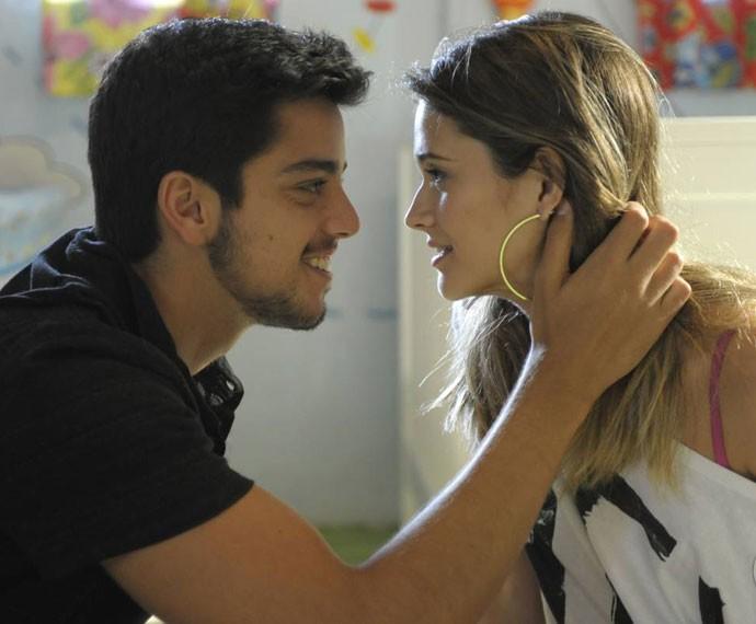 Brutinha era amor demais! (Foto: CEDOC/TV Globo)