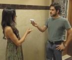 Isis e Pigossi em cena da novela | TV Globo