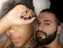 Ludmilla mostra intimidade agarrada com o namorado na cama