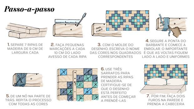 passo-a-passo-cabeceira; cabeceira (Foto: Ilustração: Luiz Lula)