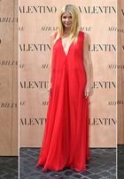 Com Gwyneth Paltrow e Tilda Swinton na plateia, grife Valentino apresenta coleção de alta-costura em Roma
