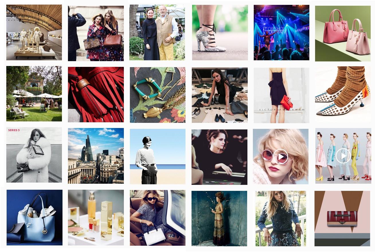 6153c2c6aea Os 10 perfis de grifes que desfilam com mais seguidores no Instagram ...