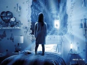Cena de 'Atividade Paranormal - Dimensão Fantasma' (Foto: Reprodução)