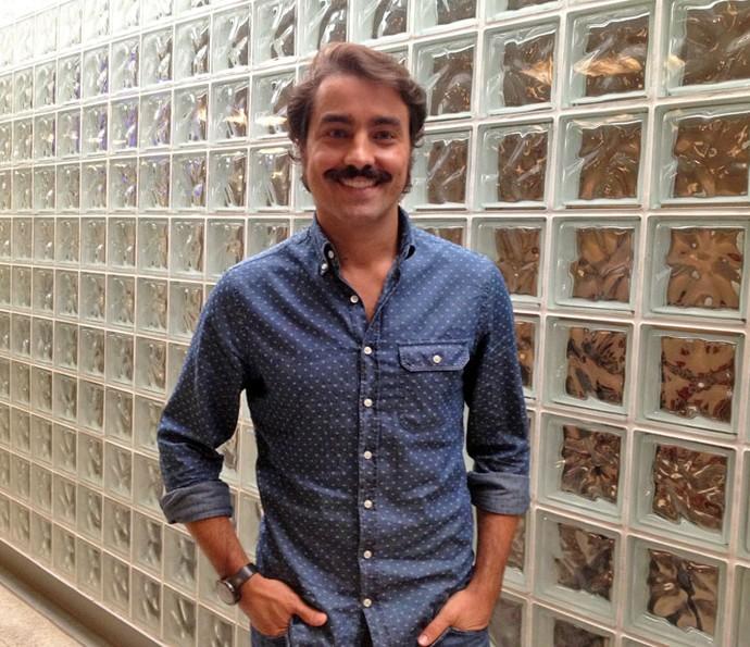 Ricardo Pereira fala sobre seus hábitos saudáveis (Foto: Juliana Hippertt/Gshow)