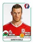 Figurinha Bale álbum da Euro