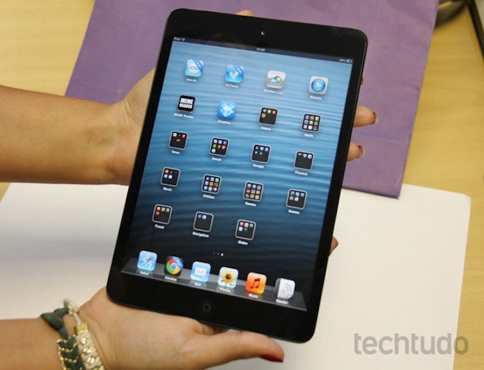 Primeira versão do iPad mini sai de linha na loja da Apple (Foto: Marlon Câmara/TechTudo)