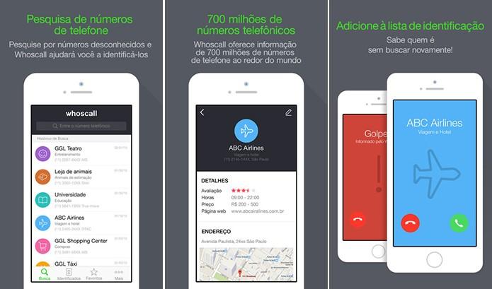 Whoscall é um aplicativo de identificação de chamadas no Android, iOS e Windows Phone (Foto: Divulgação/App Store)