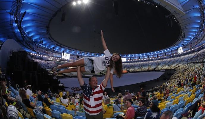 Cerimônia de abertura Olimpíada (Foto: EFE)