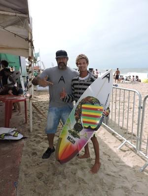 Deyvison Santos Ricardo Marroquim surfe