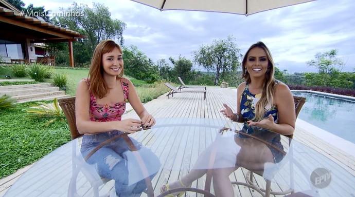 Aline Lima e a consultora de moda Fernanda Cavinatto mostram quais são as tendências deste verão (Foto: reprodução EPTV)