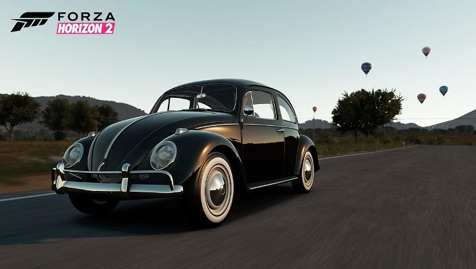 Forza Horizon 2: Fusca será um dos 200 carros do jogo. (Foto: Divulgação)