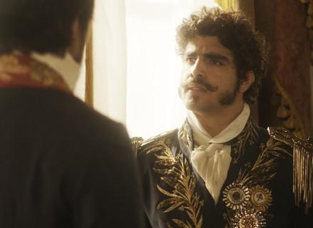 Chalaça e Pedro brigam por causa de Domitila