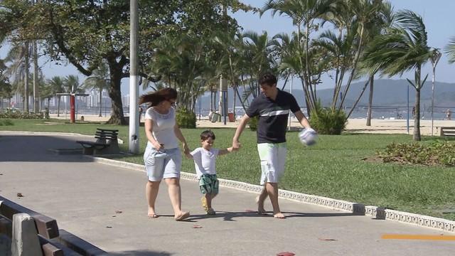 Homenagem para os pais (Foto: Reprodução/TV Tribuna)
