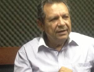 Leomar Quintanilha, presidente da FTF (Foto: Vilma Nascimento/GLOBOESPORTE.COM/TO)