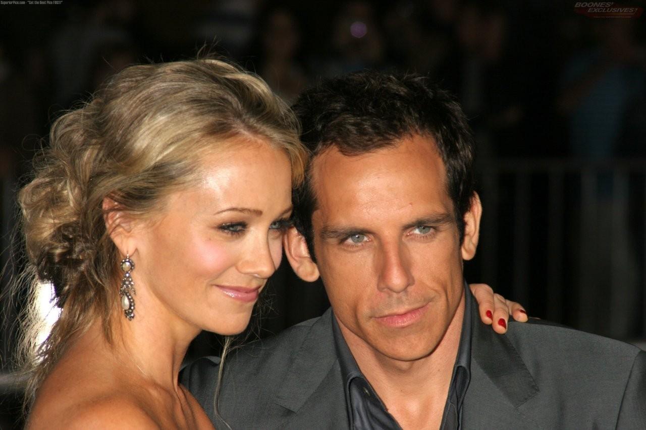 Ben Stiller e Christine Taylor (Foto: Divulgação)
